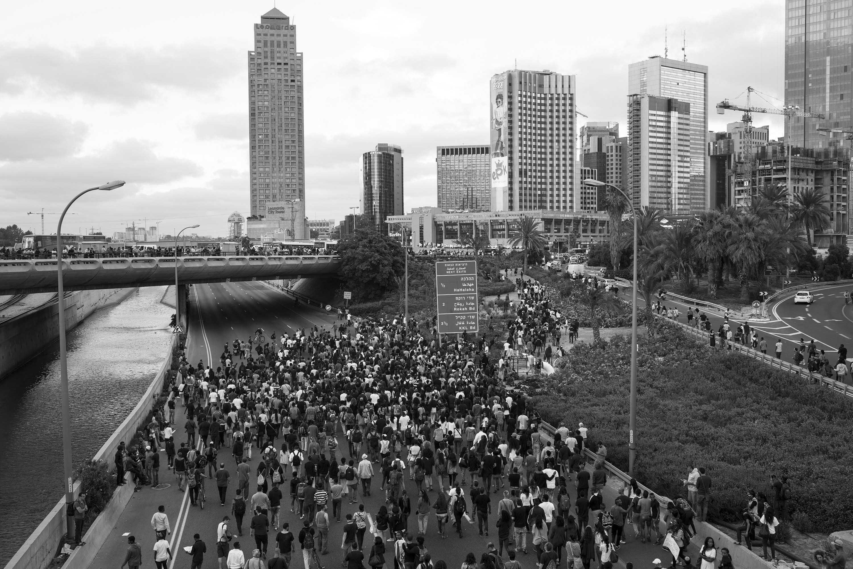 הפגנה נגד אלימות משטרתית